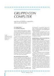 GRUPPO CON COMPUTER - TD Tecnologie Didattiche - Cnr