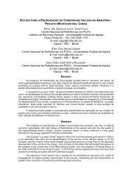 eletrificao em comunidade isolada na amaznia - SciELO Proceedings