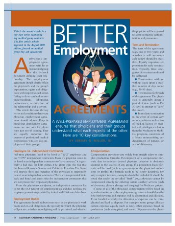 Sample Self Employment Contract  Cdha