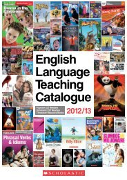 English Language Teaching Catalogue - Scholastic