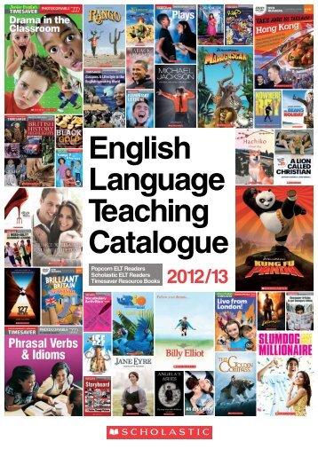 English Language Teaching Catalogue - Scholastic