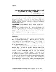 comissões de verdade na américa latina