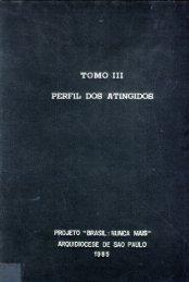 Tomo III - Perfil dos Atingidos - DHnet