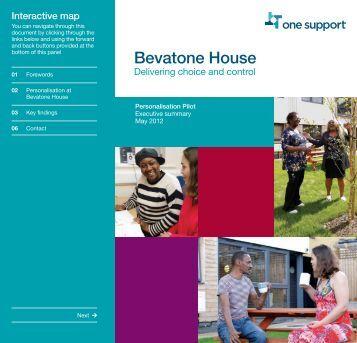 Bevatone House Executive Summary - One Housing Group
