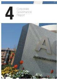 Corporate Governance Report - Grupo ACS
