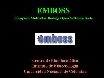 EMBOSS - EMBnet Colombia - Universidad Nacional de Colombia