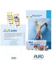Wände und Decken gestalten - AURO-online.de