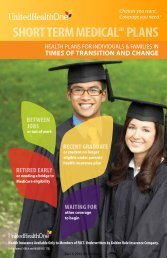 Plan Brochure - eHealthInsurance.com