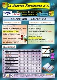 La Gazette Feytiacoise n°11 - Footeo