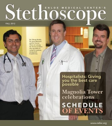 Download Stethoscope, Fall 2012 - Enloe Medical Center