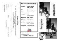 Erste Hilfe Seminar 2009 - Evangelisches Jugendwerk Bezirk ...