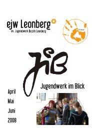 EJW Leo JIB April-Juni 08 4 - Evangelischen Jugendwerks im Bezirk ...