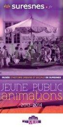 MUS - livret pédagogique - 2013/2014 - Suresnes