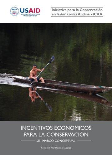Incentivos económicos para la conservación - Sociedad Peruana de ...