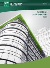 eUROPeAN OFFICe mARkeT 2011 - BNP Paribas