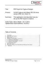 Title: PDF Export for Capture Designs Product: OrCAD ... - FlowCAD