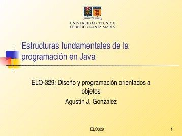 Estructuras fundamentales de la programación en Java