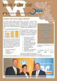 Ausgabe Juni 2013 - VR-Bank Mittelsachsen eG