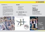 Auf diesem PDF-Flyer finden Sie weitere Informationen - SSI Schäfer