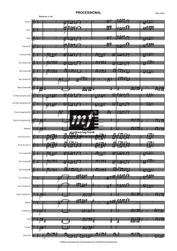Processional WB score