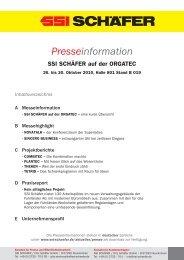 Presseinformation - SSI Schäfer