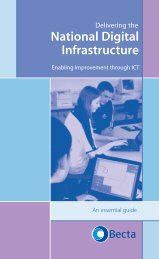 The National Digital Infrastructure - Wigan Schools Online