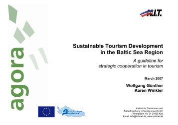 A guideline for strategic cooperation in tourism - Ernst-Moritz-Arndt ...