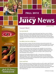 FALL 2010 - Jack LaLanne's Power Juicer
