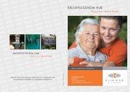 KREISPFLEGEHEIM HUB - Heimverzeichnis