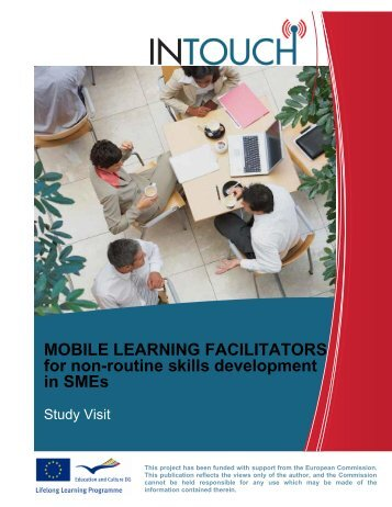 mobile learning facilitators for non-routine skills development in smes