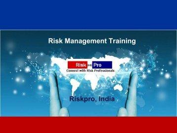 Riskpro Risk Management Training Brochure.pdf