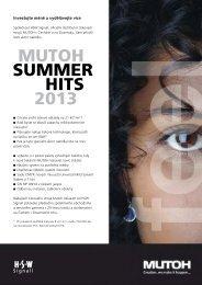 MUTOH SUMMER HITS 2013 - HSW signall
