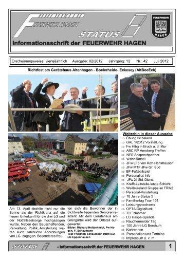 12 - Verband der Feuerwehr der Stadt Hagen eV