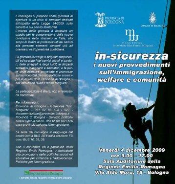 In-Sicurezza - CGIL Modena
