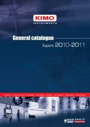 See the general catalogue of ΚΙΜΟ products - om.gr
