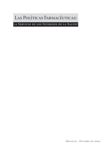Las Políticas farmacéuticas: a servicio de los ... - unesdoc - Unesco