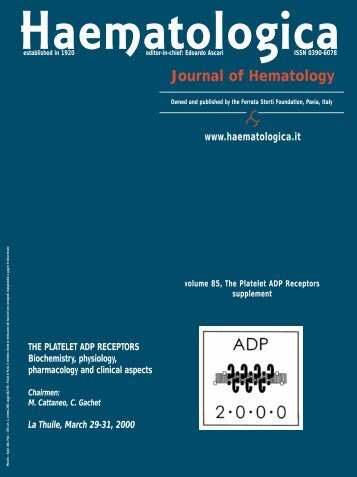 ADP doc - Supplements - Haematologica