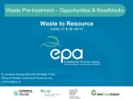 Dr Jonathan Derham, Environmental Protection Agency. - Enterprise ...