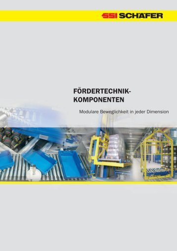 FÖRDERTECHNIK- KOMPONENTEN - SSI  Schäfer AG
