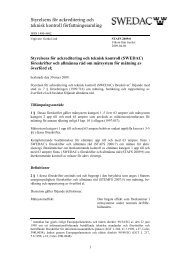 stafs 2009:8 - Swedac