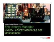 Ship Energy Manager - ABB - ABB Group