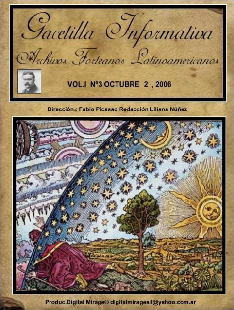 Vol I Nº3 - Archivos Forteanos Latinoamericano.