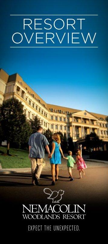 Resort Overview Brochure - Nemacolin Woodlands Resort