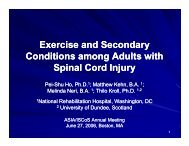 exercisers? - Rehabilitation Research and Training Center on ...