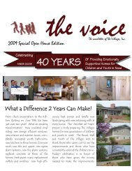 What a Difference 2 Years Can Make! - The Villages Inc.