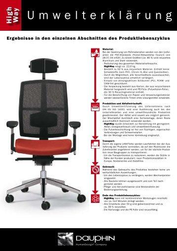 Umwelterklärung - Blickpunkt-buero.de