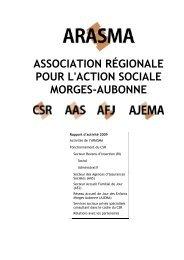ASSOCIATION RÉGIONALE POUR L'ACTION SOCIALE - Morges