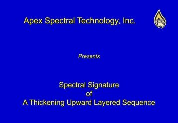 Apex Spectral Technology, Inc.