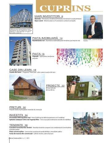 mari investitori 8 piaţa imobiliară 14 piaţa 16 case din lemn 18 ...