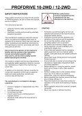 PROFDRIVE 10-2WD / 12-2WD - Farmi Forest - Page 5